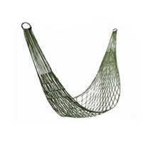 New Camping Hammock Garden Swing Portable Nylon Hang Mesh Net Sleeping Bed Outdoor Furniture army green 270279