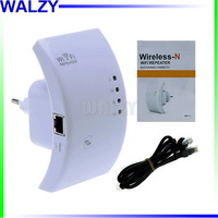 Wireless N Wifi Repeater 802.11N/B/G Network Router Range Expander 300M 2dBi Antennas Signal Boosters Drop Shipping