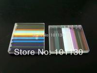 5 pieces/lot Defective Prism for Decoration Educational Ornamental Color Combination Prism