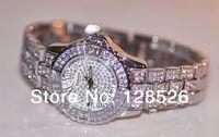 Women Rhinestone Watches 2014 Ladies Dress Watches Full Diamond Crystal Women's Luxury Watches Female Silver Quartz Watches003