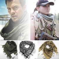 Military Arab scarf Shemagh Tactical Desert Arabic Keffiyeh Scarf  Muslim Hijab Scarves 1pc