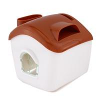 Waterproof Phone Loudspeaker Toilet Paper Holder Roll Tissue Case Stand Washroom Bathroom Accessories Coffee New 95403