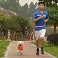 Running dog drawstring traction belt dog traction rope belt leash