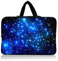 "Romantic Star 15.1""15.3"" Neoprene Laptop Sleeve Netbook Pouch Cover Holder Case Bag Protector Handle Waterproof Dustproof"