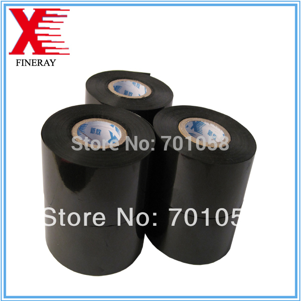 Black 30mm*120m time and date stamp used in packaging and pharmaceutical industries printing date or batch number(China (Mainland))