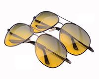 Polarized Day And Night Driving Sunglasses Yellow Lens Night Vision Driving Glasses Reduce Glare Anti-vertigo Sun Glasses