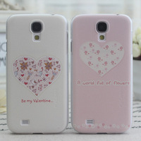 For phone case s4 original leather case for  s4 i9500 phone case phone case love