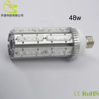 fedex free shiping E40 led street light 48w high power garden lighting 360degree 85-265v 4320lm E27 led corn street lamp 48w