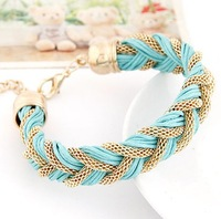 European and American lady joker metal chain delicate temperament of rope bracelet#09041976*J36