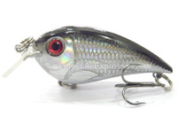 Fishing Lure Crankbait Hard Bait Fresh Water Shallow Water Tight Wobble Slow Floating Fishing Tackle C627X18
