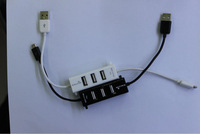 High quality high speed Micro USB Charger Cable Super  Hub White & black  free shipping