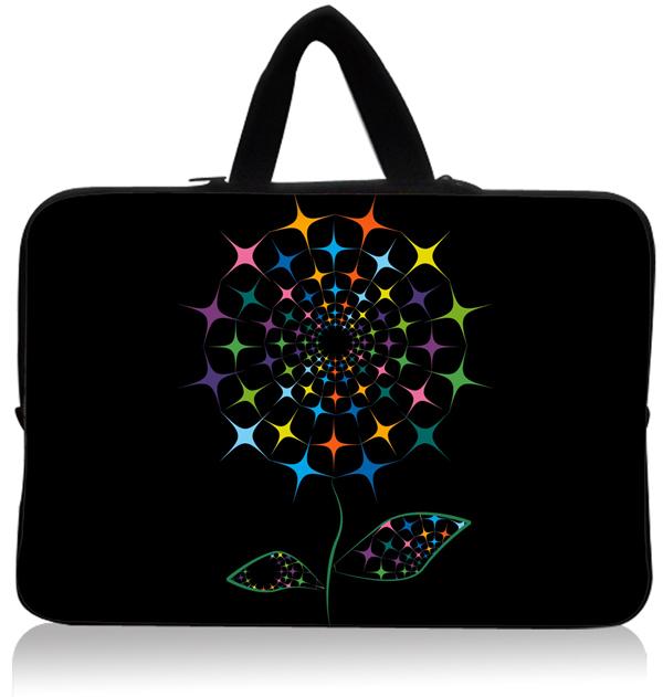 "Colorful estrela imprimir 15.1 "" 15.3 "" Laptop Sleeve Neoprene Netbook bolsa cobrir titular Case Bag Protector Handle Dustproof impermeável(China (Mainland))"