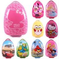 Cartoon trolley luggage eggshell child travel luggage bag student school bag