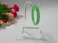 Super White Clear Acrylic Jewelry Display Props Bracelet Chain  Rack Ankle Stand Bangle Shelf  Holder Hook