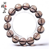Natural 5a smoky quartz bracelet smoky quartz lovers smoky quartz bracelets
