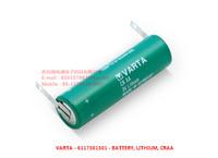 VARTA - 6117301301 - BATTERY, LITHIUM, SOLDER TAGS