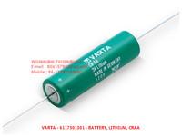 VARTA - 6117501301 - BATTERY, LITHIUM, CD AXIAL