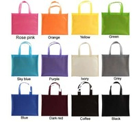 W20xH25.5xD13cm custom-made non woven reusable shopping promotional bag with  your customized company logo   free shipping