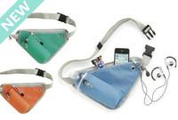 NEW 2014 Fashion men women multifunctional sport storage pocket travel mobile phone bags close fitting pocket Portable backpack