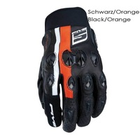 FIVE LEATHER STUNT FLAT GLOVE, motorcycle gloves,racing gloves, summer breathable glove