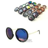Wallace paid Prince half-metallic black frame mirror frame color great circle Advanced UV coating