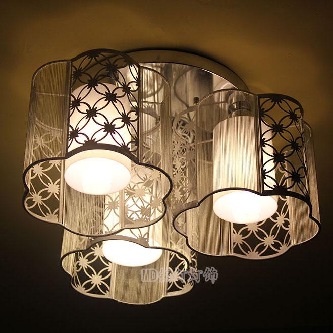 Iron drawing light child light plum blossom lamp rustic bedroom lights lamp romantic ceiling light acrylic cover(China (Mainland))