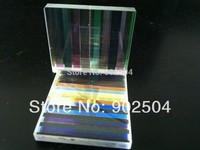 10pcs/lot 3.3x2.8x0.2cm  Defective lens Prism Optical Glass Physics Decorative prism free shipping
