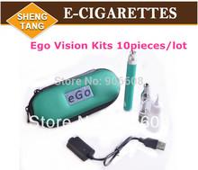 10Pieces/lot Ego Vision Spinner Battery Mini Protank 2 Atomizer kit Electronic Cigarette E-cigarette kits 650mah 900mah 1100mah