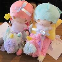 Original Sanrio Little twin stars plush dolls 4pcs/set