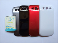 Hot Large capacity battery thickening for S3 i9300 High capacity 4500mAh 3.7V Delivery phone back shell  Free Shipping