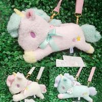Original Sanrio Little twin stars plush Purse bag soft dolls 3 colors