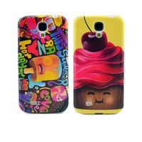High Quality Cute Cartoon Chocolate Boy Ice Cream Soft TPU Case Back Gel-Silicon Cover  For Samsung Galaxy S4 I9500
