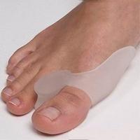 2pcs/lot Soft & Free shipping Bunion Protector Toe Straightener Toe seperating Toe Gel Separators Eases Foot Pain  2014 new