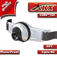 Free Shipping F6 HD 720P Outdoor recreation Sports Helmet Camera DVR with Flashlight  8GB Capacity TF Card