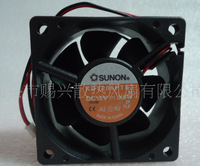 SUNON built 6025 cooling fan DC12V 0.8W KD1206PTS3