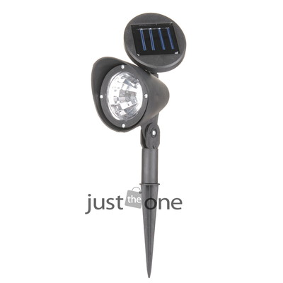 NEW 3 LED Solar Powered Spotlight Landscape Spot Outdoor Garden Light Lamp ABS(China (Mainland))