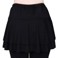 Ballroom dancing skirt women's square dance clothes Latin dance skirts small skirt