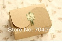 wholesale-2014NEW!!free shipping 10pcs/set vintage kraft box , cake box, bakery gift boxes,cookie box,15.5x10.5x8.5cm