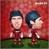 KODOTO Soccer Doll Buffon  2014 World Cup Italy National Football Team Football Star Souvenirs PVC Figure/Toy/Model