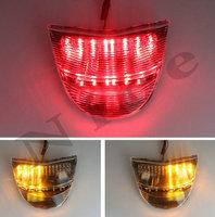 Clear LED Tail Light Brake Turn Signals For Honda CBR 954 CBR954 2002 2003