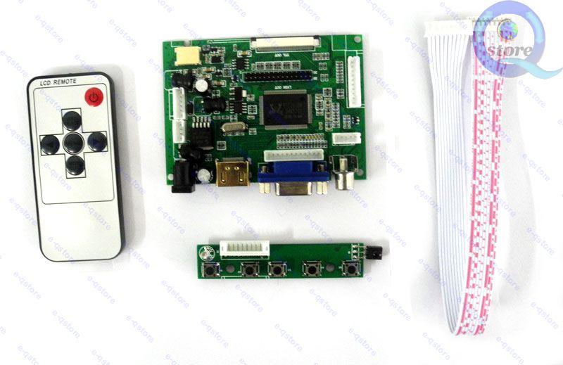 Микро-hdmi + VGA + 2AV DIY