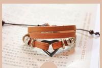Korean Fashion Beaded Bracelet Heart Jewelry