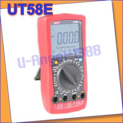 UNI-T Digital Multimeters Factory Direct UT58E 100% good product +free shipping(China (Mainland))