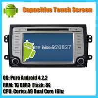 8inch 2 Din In-dash Android 4.1 Dual Core 1Ghz Suzuki SX4 Car Radio DVD GPS SatNavi With Capacitive Touchscreen WIFI Map
