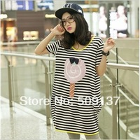 Summer Clothes For Pregnant Women/ Maternity Lollipop Loose Long T-shirt WDST105