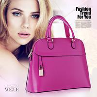 2014 gentlewomen genuine leather bag fashion women's cowhide handbag