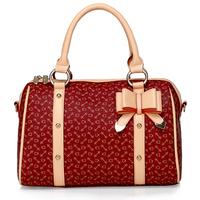 2014 spring bow women's bags women's handbag all-match casual one shoulder handbag bag