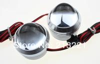 1pair Mini 10W Led Car daytime running light Aux eagle eye fog lamp Rear reverse Backup Motorcycle Strobe Flash License light