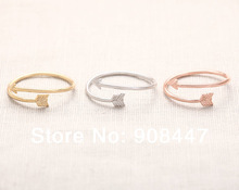 Arrow Wrap Ring – Rose Gold arrow rings,unique rings,adjustable rings,knuckle ring,stretch rings,cool rings,cute ring