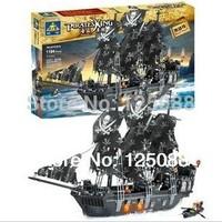 KAZI 87010 large 1184pcs 3D Construction eductional Bricks Building Block Sets pirates king Enlighten  toys for children
